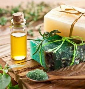 油和健康化妆品