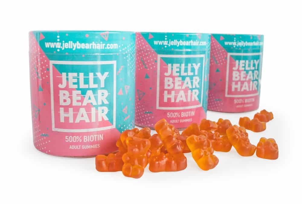 Jelly Bear Hair维生素凝胶治疗脱发
