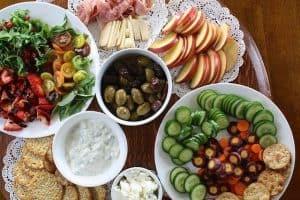 桌上的健康菜