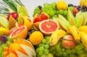 柑橘类水果、葡萄和香蕉