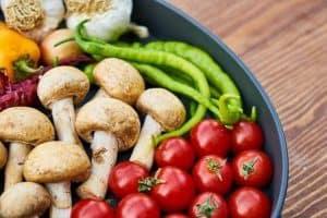 碗里的蔬菜
