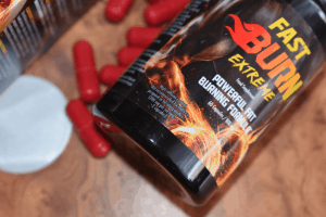 包装和Fast Burn Extreme胶囊