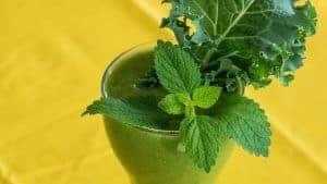 绿色鸡尾酒