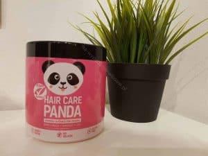 桌上的熊猫护发