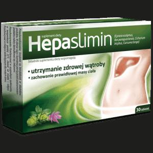 Hepaslimin片支持维持健康的肝脏。