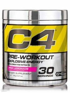 Cellucor C4 Original 锻炼前