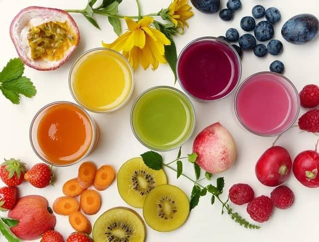 水果鸡尾酒和水果