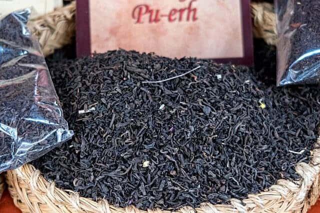 Pu-erh红茶
