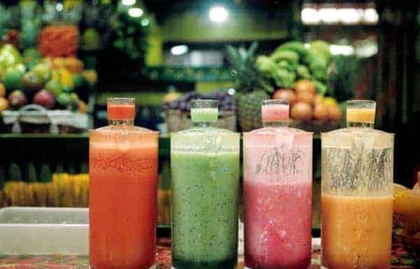瓶装蔬菜鸡尾酒