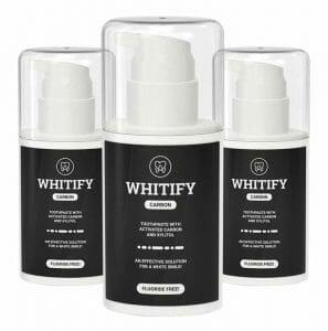 Whitify Carbon黑色牙膏