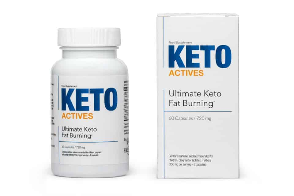 Keto Actives包件