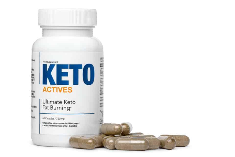Keto Actives片剂