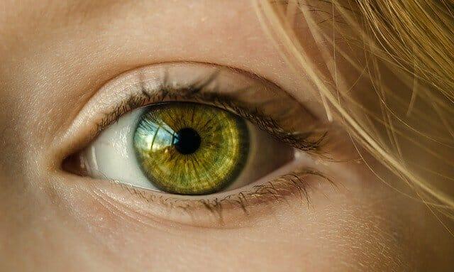 女性的眼睛