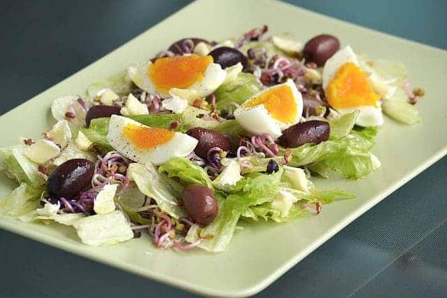 橄榄蛋沙拉