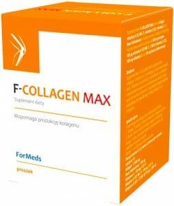 F-Collagen Max,一种胶原蛋白和维生素补充剂。