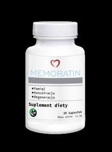 记忆力和注意力的补充剂Memoratin