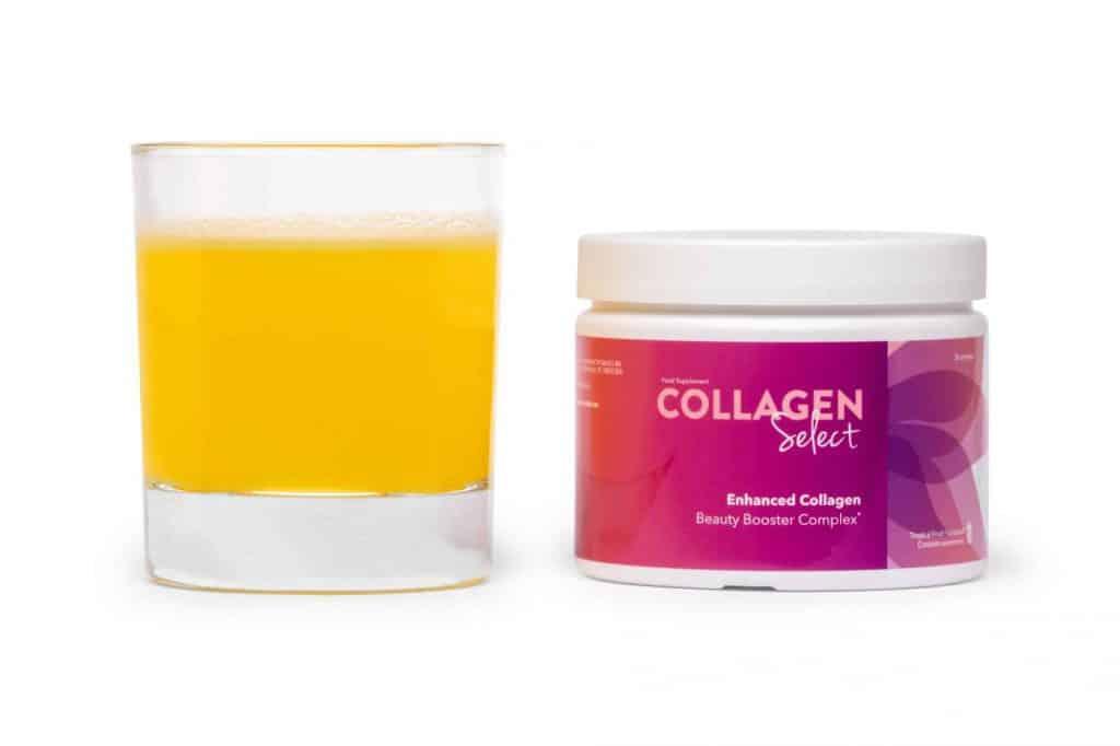 喝胶原蛋白Collagen Select
