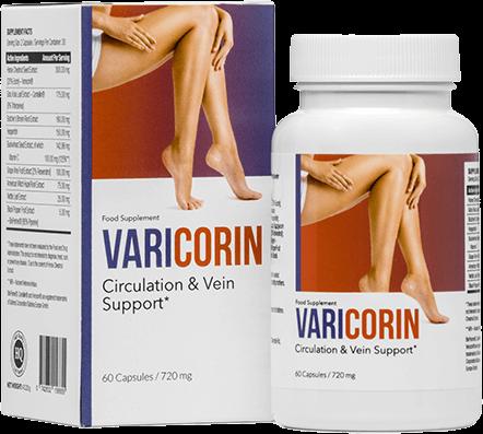 Varicorin最好的静脉曲张药丸。