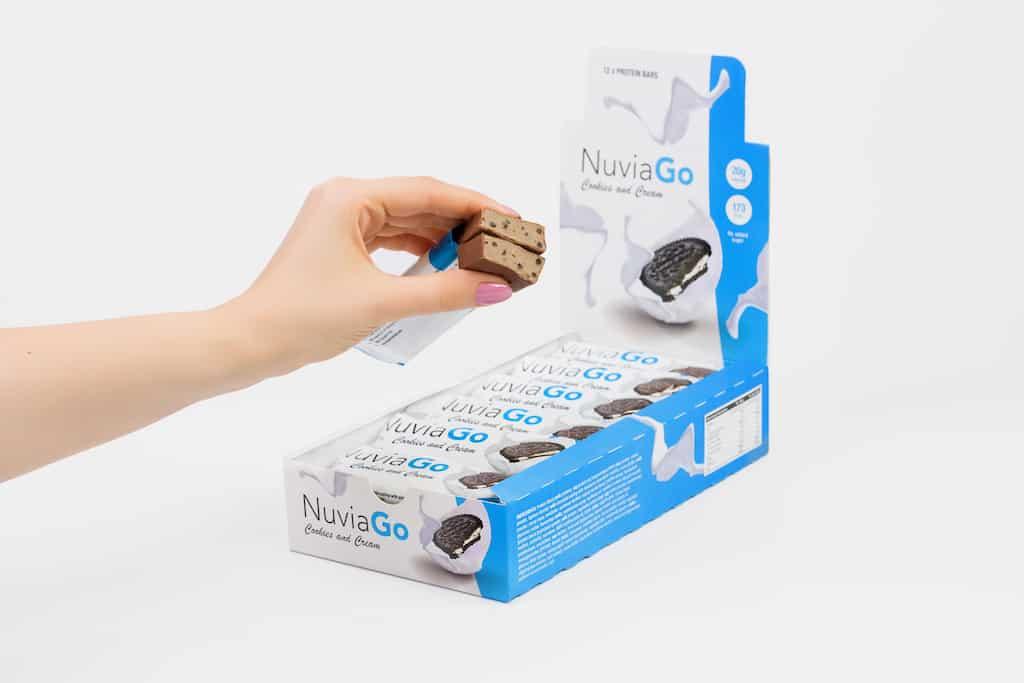 NuviaGo蛋白棒