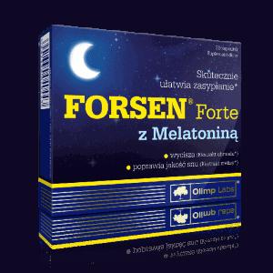 Olimp Forsen Forte与褪黑激素
