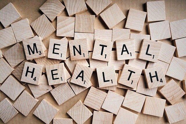 心理健康铭文用拼字块排列的方法