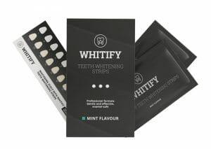 牙齿美白条Whitify Strips