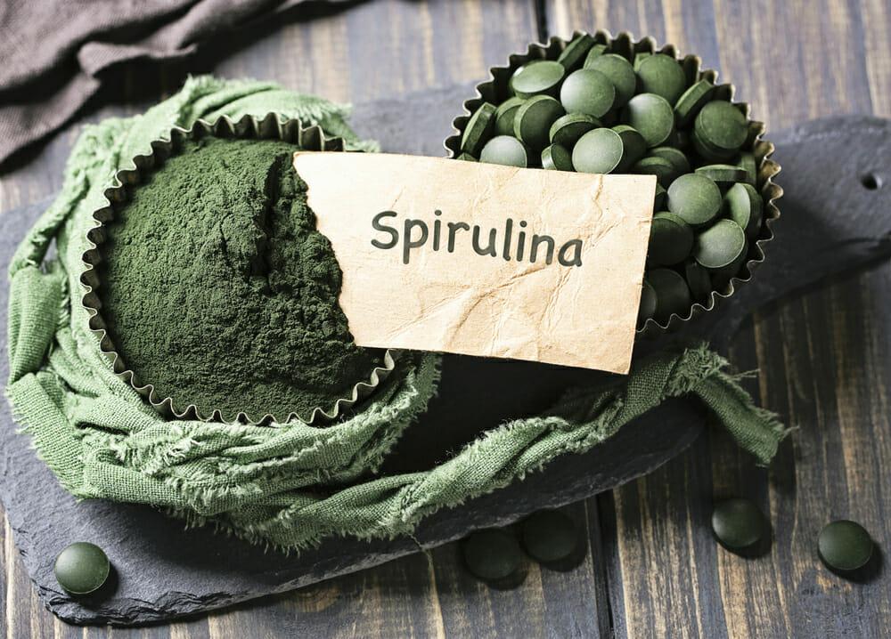 螺旋藻片和螺旋藻粉